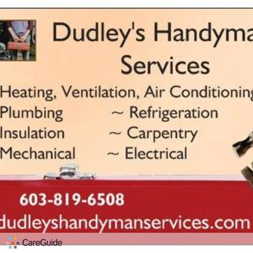Handyman Provider Patrick Dudley's Profile Picture