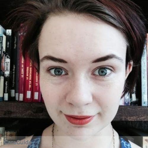 Canadian Nanny Provider Zoe 's Profile Picture