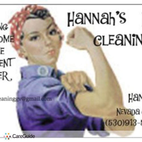 Housekeeper Provider Hannah Holt's Profile Picture