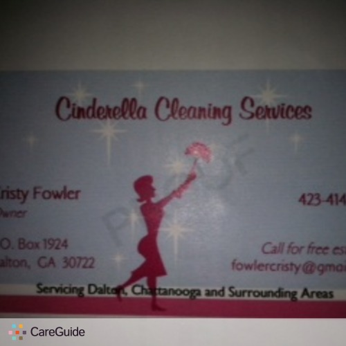 Housekeeper Provider Cristy Fowler's Profile Picture
