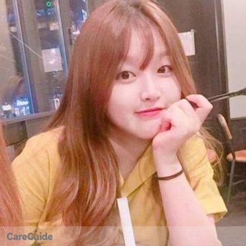 Canadian Nanny Provider Minjeong Kim's Profile Picture