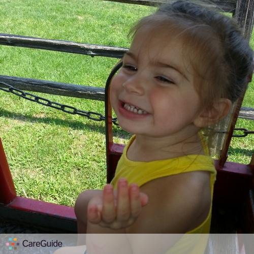 Child Care Job Jessica W's Profile Picture