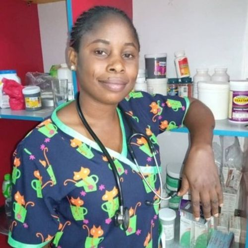 I am chukwuji patience, i am a public health provider, i offer health care services: drug administration, wound dressing etc
