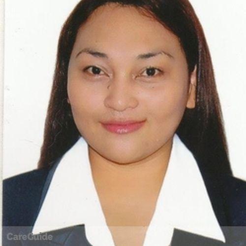 Canadian Nanny Provider Katrina De La Cruz's Profile Picture