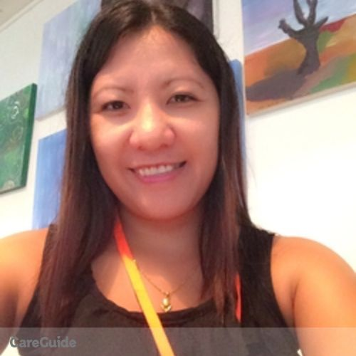 Canadian Nanny Provider Marife Felecia's Profile Picture
