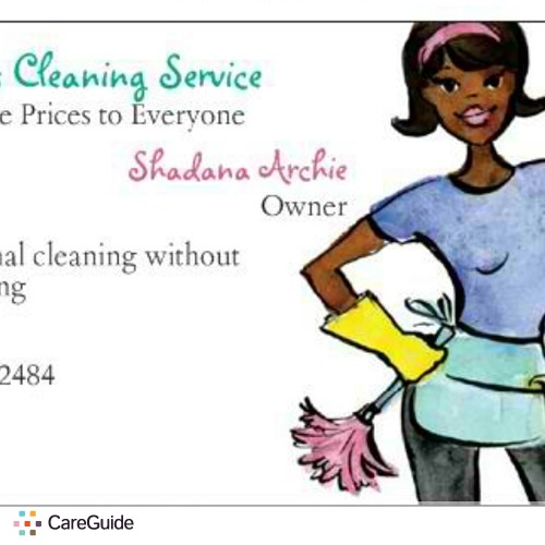 Housekeeper Provider Shadana Archie's Profile Picture