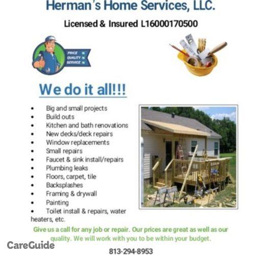 Handyman Provider Brycen Herman's Profile Picture