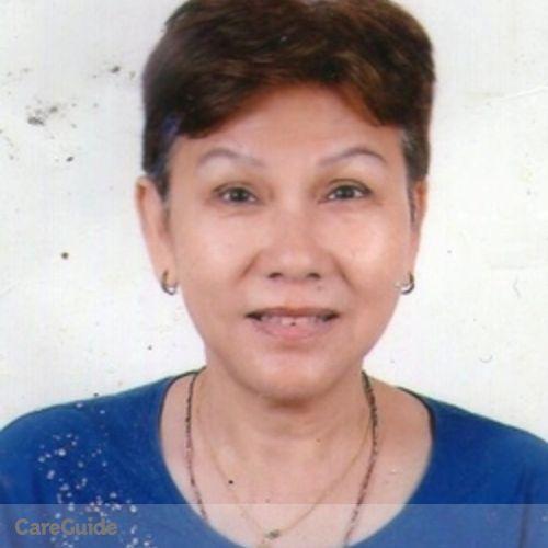Canadian Nanny Provider Mutiara Abdullah's Profile Picture