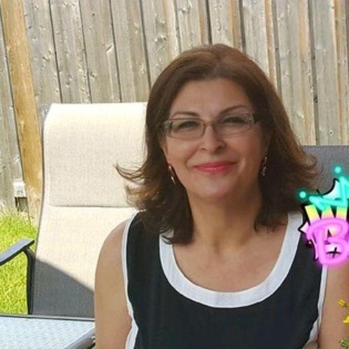 Canadian Nanny Provider Nasrin F's Profile Picture
