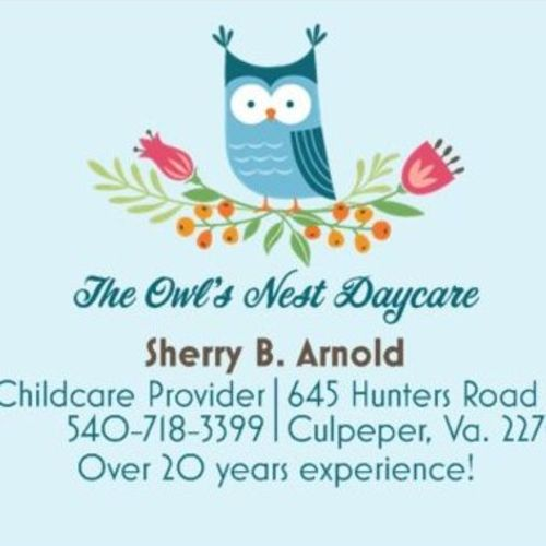 Child Care Provider Sherry A's Profile Picture