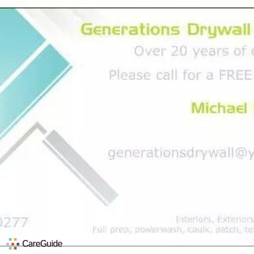 Painter Provider Michael R's Profile Picture