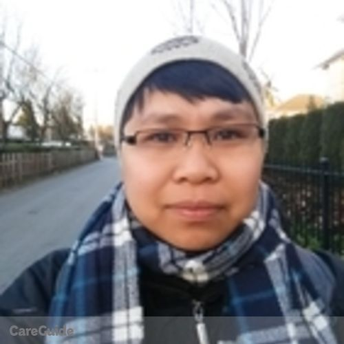Canadian Nanny Provider Windelyn S's Profile Picture