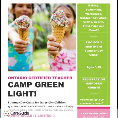 Child Care Provider Camp Green Light's Profile Picture