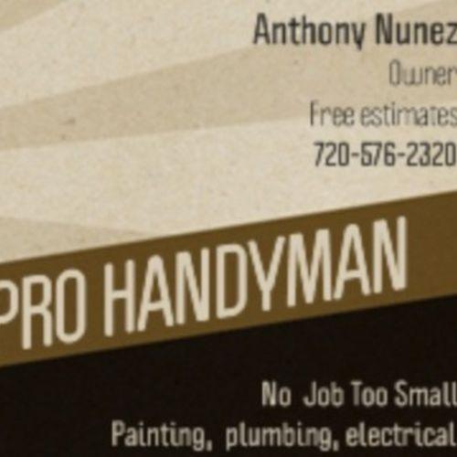 Handyman Provider Denver pro Handyman's Profile Picture