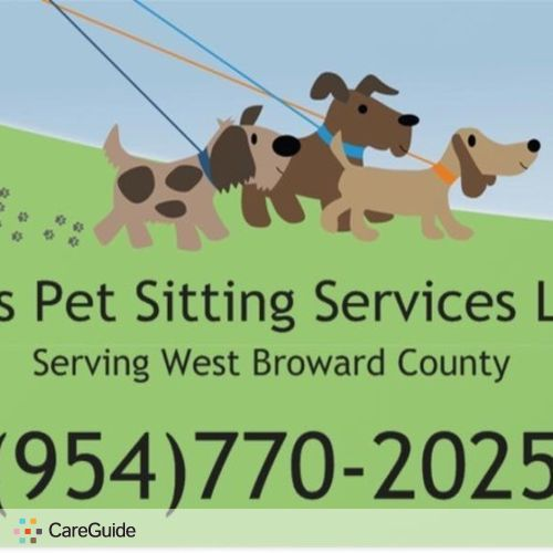 Pet Care Provider Mel's pet sitting Services LLC's Profile Picture