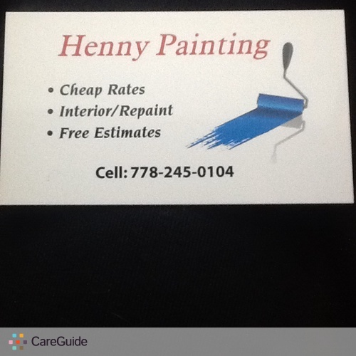 Painter Provider H P's Profile Picture
