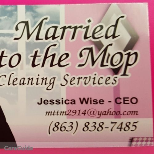 Housekeeper Provider Jessica Wise's Profile Picture