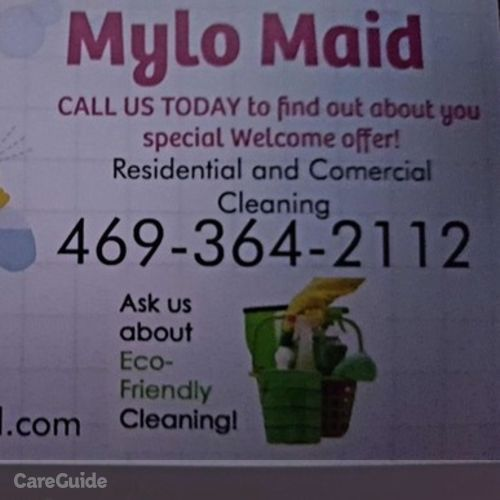 Housekeeper Provider Mylo Maid's Profile Picture