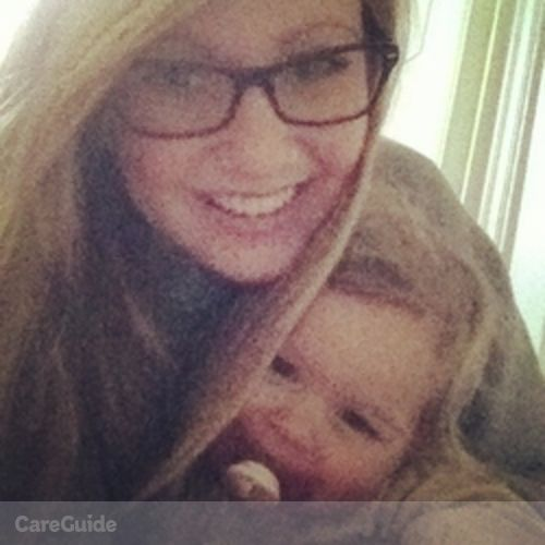 Canadian Nanny Provider Sarah Baker's Profile Picture