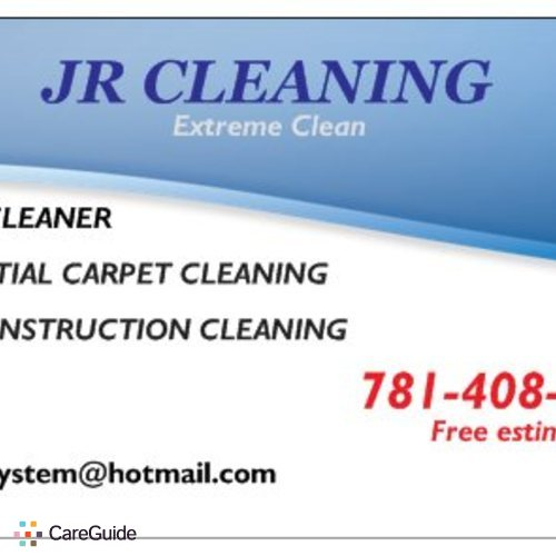 Housekeeper Provider House and Apartment Cleaners/ Extreme clean Junior's Profile Picture