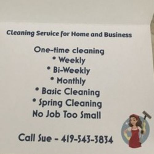 Housekeeper Provider Sue R's Profile Picture