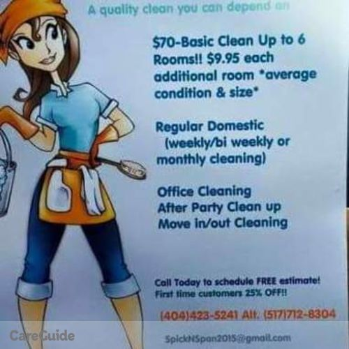 Housekeeper Provider Rhoda King's Profile Picture