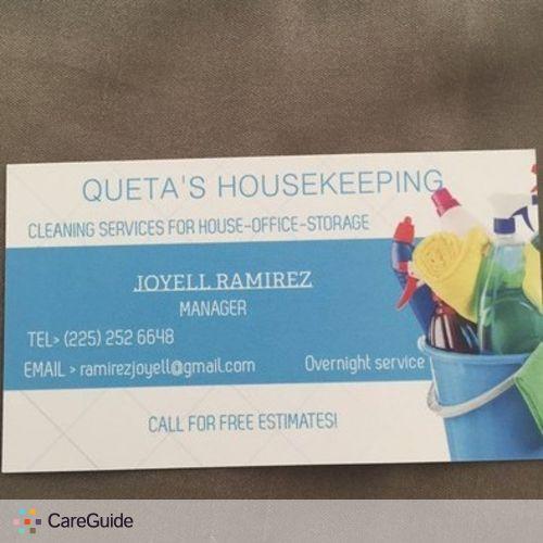 Housekeeper Provider Joyell Ramirez's Profile Picture