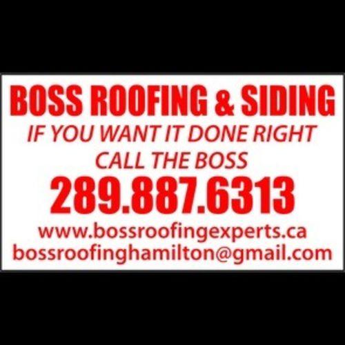 Boss Roofing & Siding