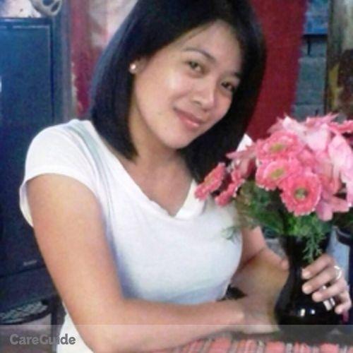Canadian Nanny Provider Mayette Saunar's Profile Picture
