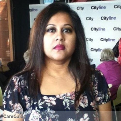 Canadian Nanny Provider Rumana Rahman's Profile Picture