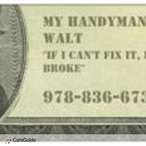 Handyman Provider Walter T's Profile Picture