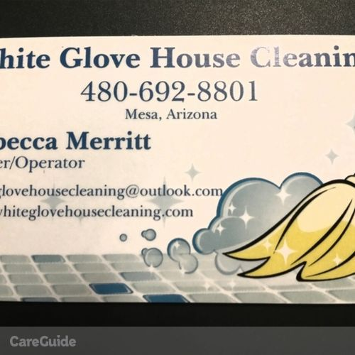 Housekeeper Provider Rebecca M's Profile Picture
