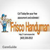 Handyman in Frisco