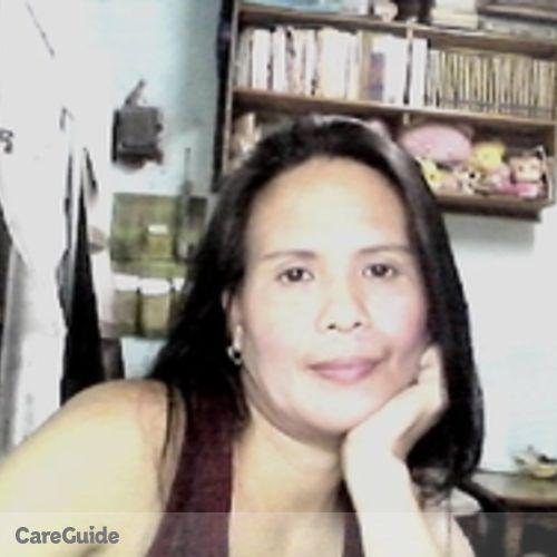 Canadian Nanny Provider Anita Cabanilla's Profile Picture