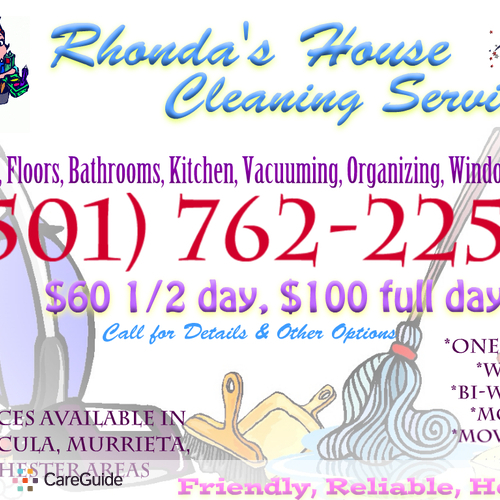 Housekeeper Provider Rhonda Baxter's Profile Picture