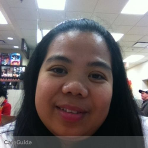 Canadian Nanny Provider Robylie Gorospe's Profile Picture