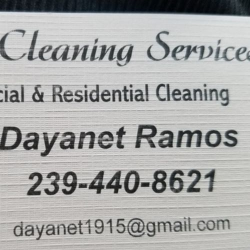 Housekeeper Provider Dayanet Ramos's Profile Picture