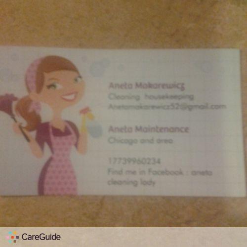 Housekeeper Provider Aneta Makarewicz's Profile Picture
