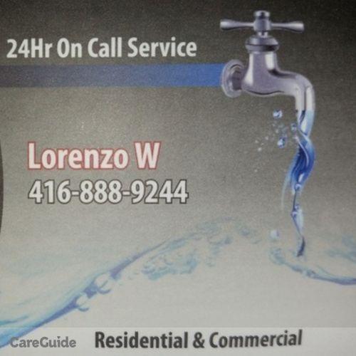 Plumber Provider Lorenzo D's Profile Picture