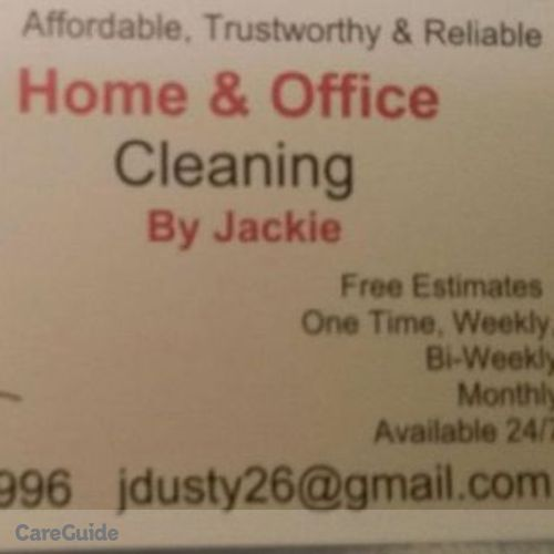 Housekeeper Provider Jaqueline D's Profile Picture