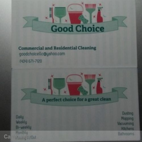 Housekeeper Provider Good Choice's Profile Picture