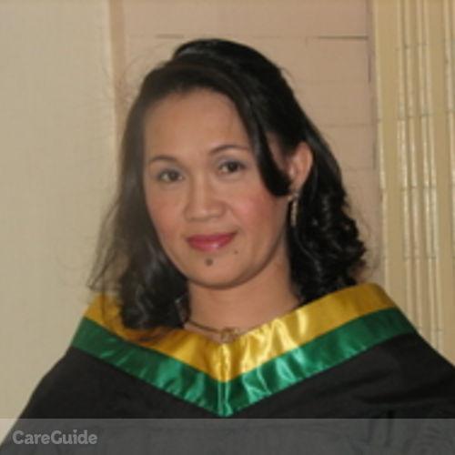 Canadian Nanny Provider Alma Jane Jugueta's Profile Picture
