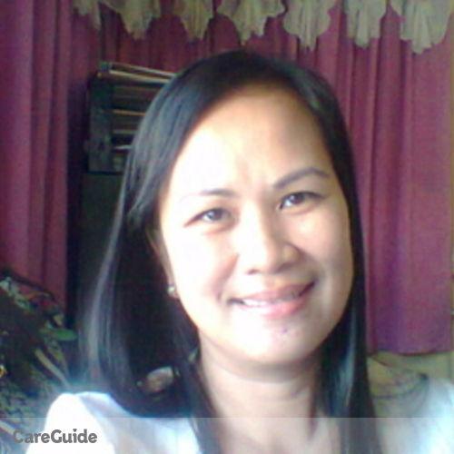 Canadian Nanny Provider Sheila Cordova's Profile Picture