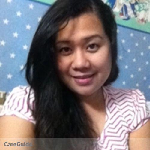 Canadian Nanny Provider Filia Angelica Buenaventura's Profile Picture