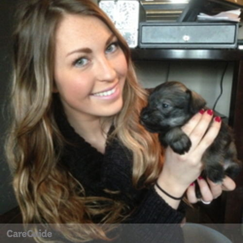 Canadian Nanny Provider Ashley Oliver's Profile Picture