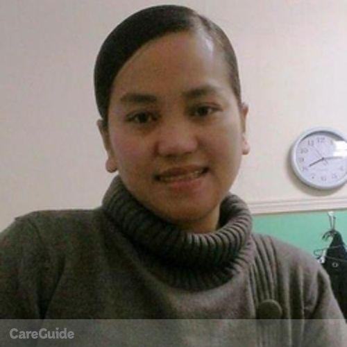 Canadian Nanny Provider Noralyn Pagulayan's Profile Picture
