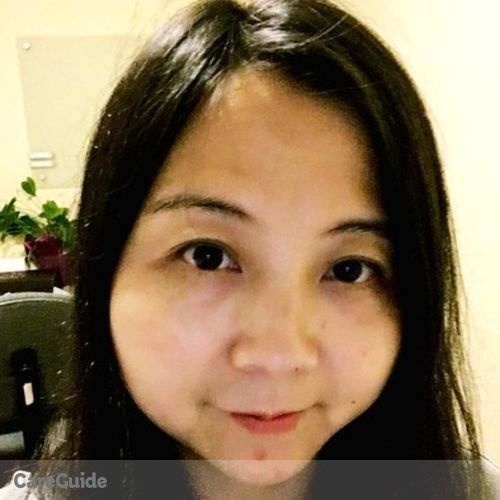 Canadian Nanny Provider Ellie Hu's Profile Picture