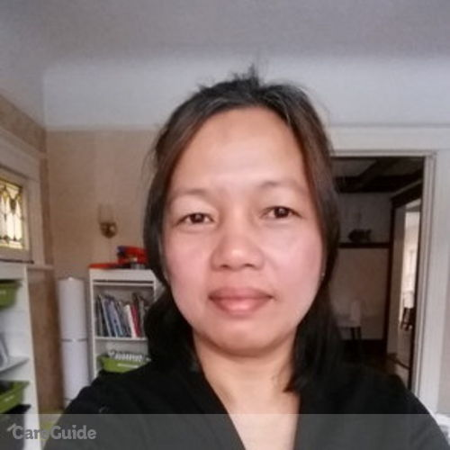 Canadian Nanny Provider Yolly Capulong's Profile Picture