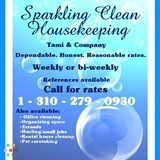Sparkling Clean Housekeeping