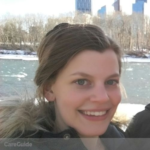 Canadian Nanny Provider Sara Petersson's Profile Picture